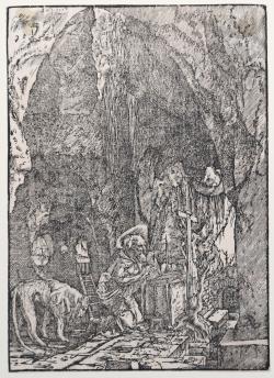St. Jerome in penitence, in...