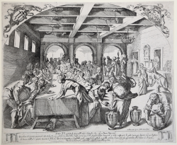 The wedding feast in Cana