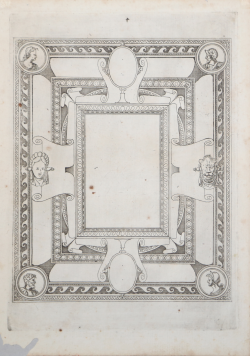 Ceiling with round