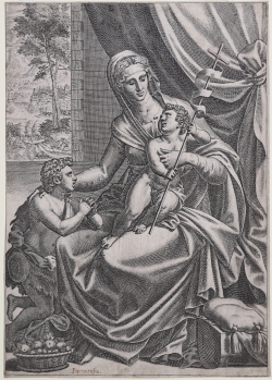 The Virgin and Child with...