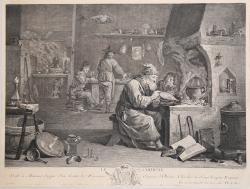 A chemist's laboratory  A...
