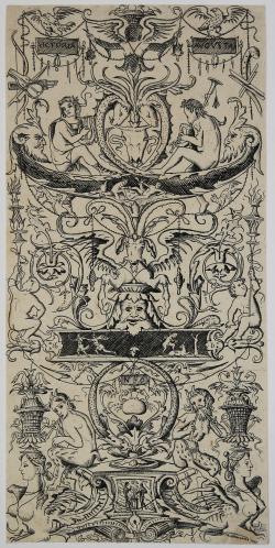 Ornamental panel: Victoria...