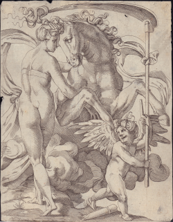 Saturn and Philyra