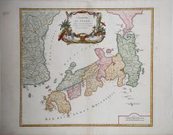 L'Empire du Japon , divisé...