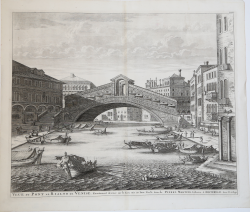 Veue du Pont de Rialto de...