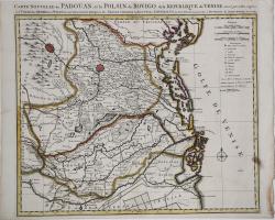 Carte Nouvelle du Padouan,...