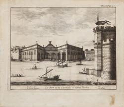 Le port et la citadelle de...