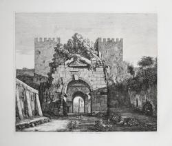 Arco di Druso e Porta Capena