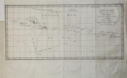 Carte des Isles D'Otahiti