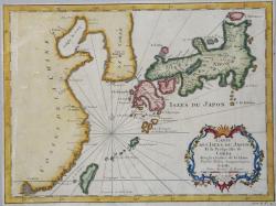 Carte Des  Isles Du Japon...