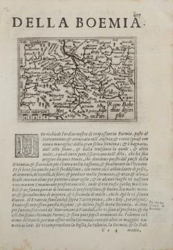 Regni Bohemiae descriptio.