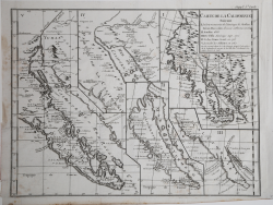 Carte De La Californie...