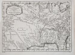 Carte de la Louisiane et...