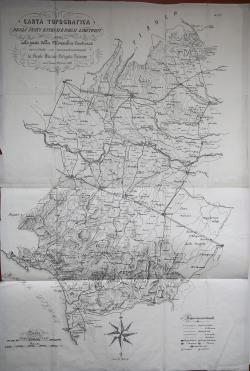 Carta Topografica degli...