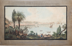 View of Naples taken from...