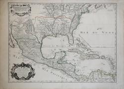 Carte du Mexique et de la...