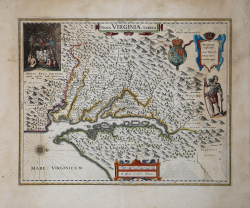 Nova Virginiae Tabula