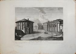 Veduta del Tempio di Vesta