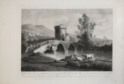 Veduta del Ponte Lucano su...