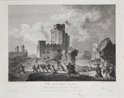 Vuë de Castel-Rosetto situé...