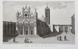 Veduta del Duomo di Siena...