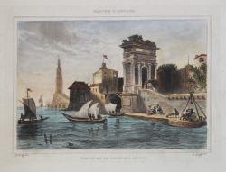 Port et Arc de Triomphe a...
