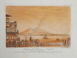 Eruzione del Vesuvio a Napoli