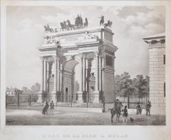L'Arc de la Paix à Milan