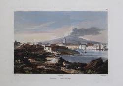Catania. Lava del 1669.