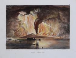 Vesuvio. Ottobre 1822.