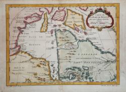 Carte de la Baye de Hudson