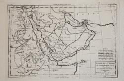 Carte de l'Arabie, du Golfe...