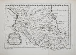 Carte de l'Empire du Méxique