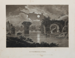 Ruined Bridge at Narni