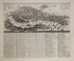 Carte du Plan de Venise...