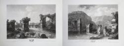 Iere Vüe des Ruines du Pont...