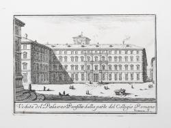 Veduta del Palazzo Panfilio...