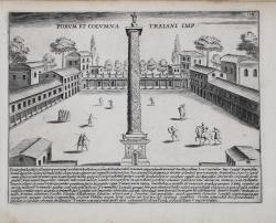 Forum et Columna Traiani Imp.