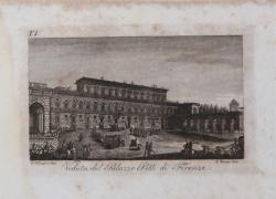 Veduta del Palazzo Pitti di...