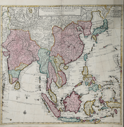 Carte des Indes et de la Chine