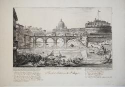 Veduta del Ponte e Castello...