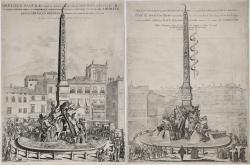 Obelisco Panfilio, Eretto...