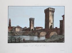 Veduta del Ponte di Faenza,...