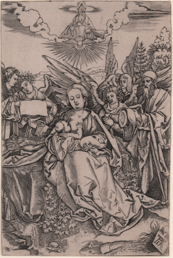 The Holy Family with Angels