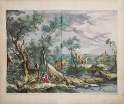 Rich Landscape with Abraham...