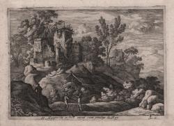 Paesaggio nei dintorni di Roma