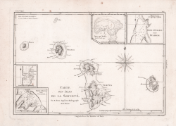 Carte des Isles de la Societè