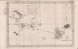Kaart van de Vrienden Eilanden
