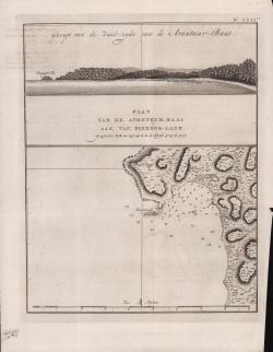 Plan von de Avontuur-Baai...