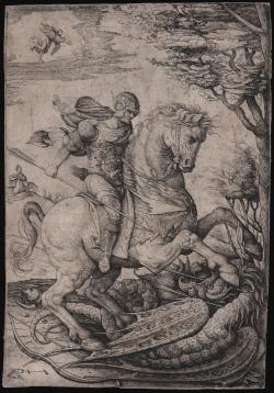 Saint George on Horseback...